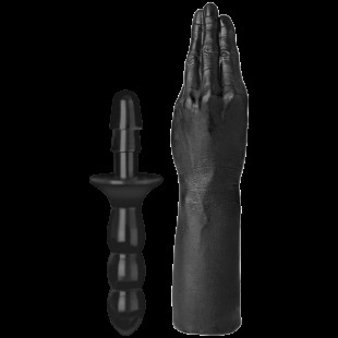 Рука для фистинга Doc Johnson Titanmen The Hand with Vac-U-Lock Compatible Handle, диаметр 6,9см