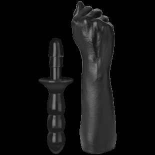 Кулак для фистинга Doc Johnson Titanmen The Fist with Vac-U-Lock Compatible Handle, диаметр 7,6см