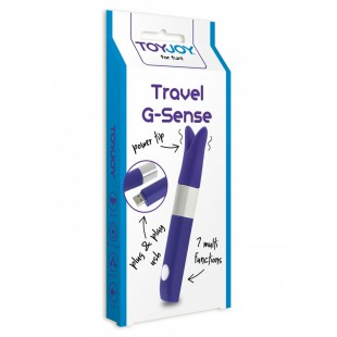 Вибратор - ToyJoy Travel G-Sense Purple