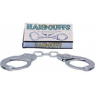 Наручники - Large Metal Handcuffs With Keys