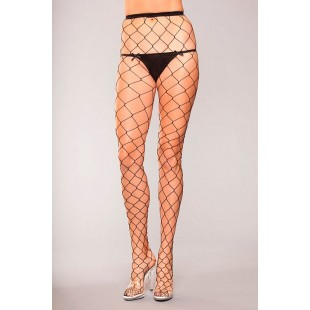 BeWicked Lingerie - FENCE NET PANTYHOSE (TBWH804)