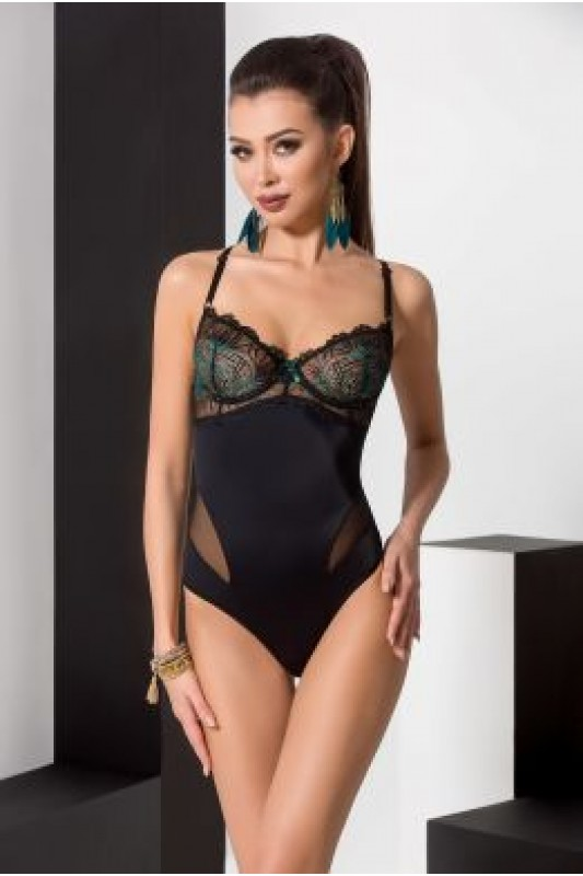FLORIS BODY black - Passion  Размер S/M