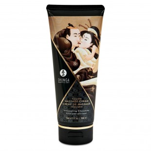 Съедобный массажный крем Shunga KISSABLE MASSAGE CREAM - Intoxicating Chocolate (200 мл)