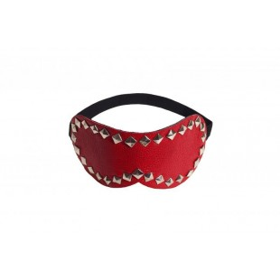 Маска Style leather mask, RED