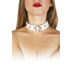 Ошейник Dominant Collar, white