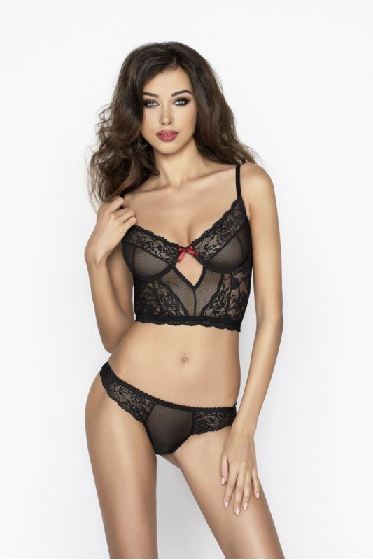 LEXINE SET black  - Passion Размер S/M