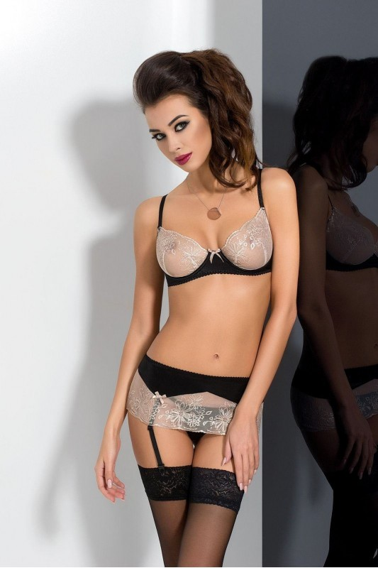 LOTUS SET black  - Passion Размер S/M