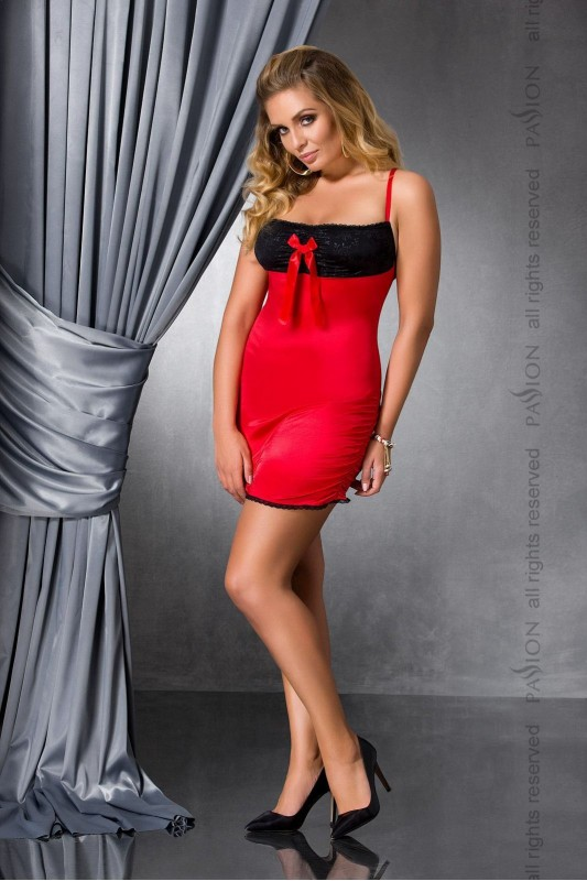 LENA CHEMISE red  - Passion Размер 4XL/5XL