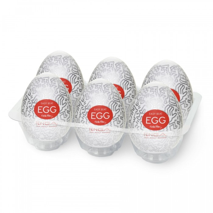 Набор Tenga Keith Haring EGG Party