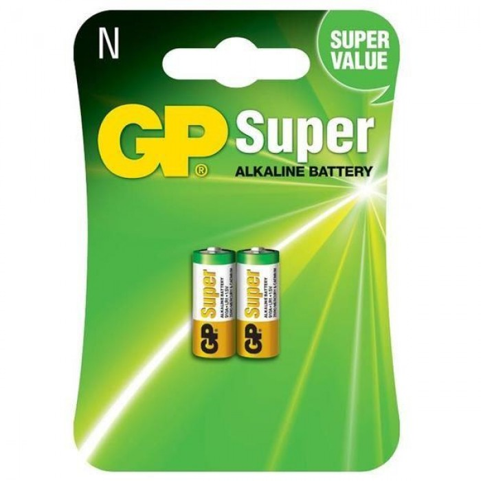 Батарейка GP Super alkaline LR1 (2 штуки)