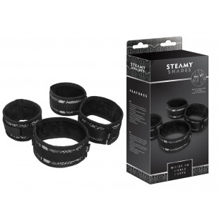 Наручники - STEAMY SHADES Wrist to Ankle Cuffs
