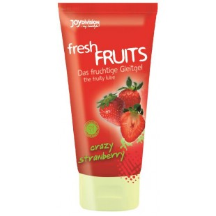 "Лубрикант - freshFRUITS ""Crazy Strawberry"", 150 мл"