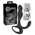 Массажер простаты - Rebel Plug with Perineum Stimulator