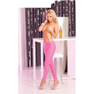 Легинсы Sleek and shiny pink leggings, Размер S/M