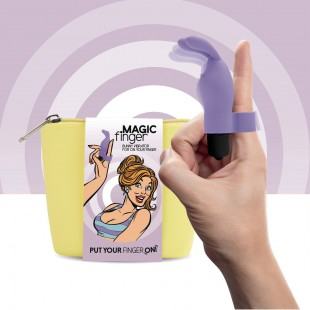 Вибратор на палец FeelzToys Magic Finger Vibrator Purple